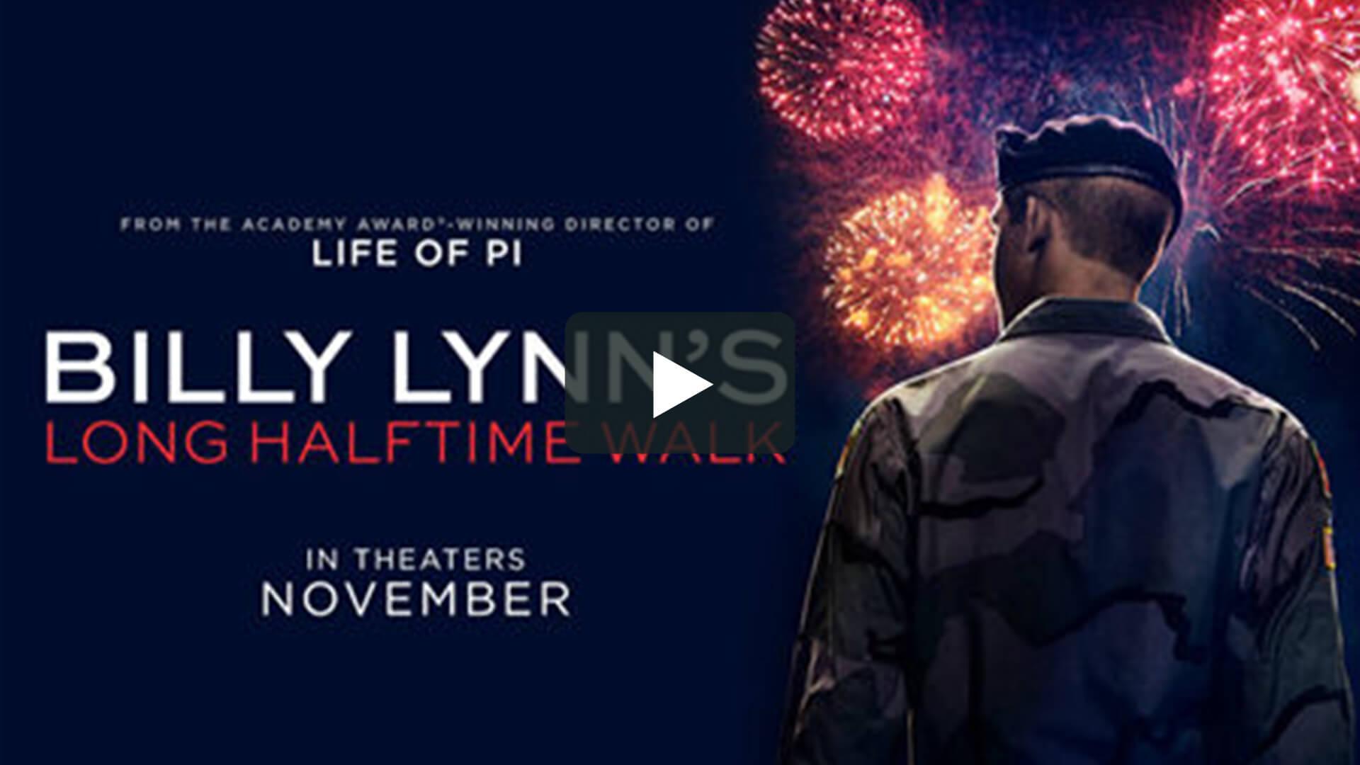 Billy Lynn's Long Halftime Walk - 比利·林恩的中場戰事
