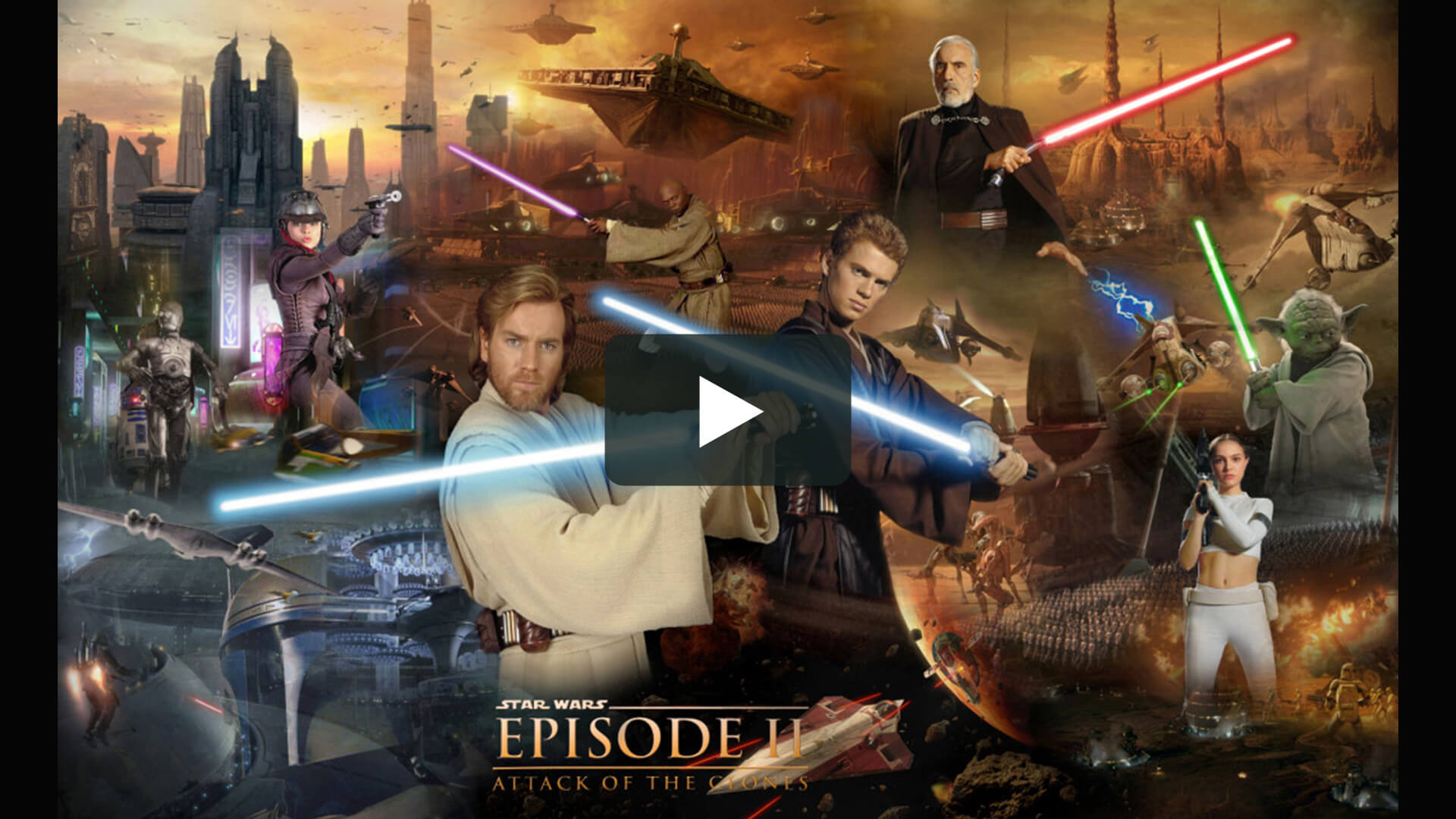 Star Wars: Episode II - Attack of the Clones - 星球大戰前傳2:克隆人的進攻