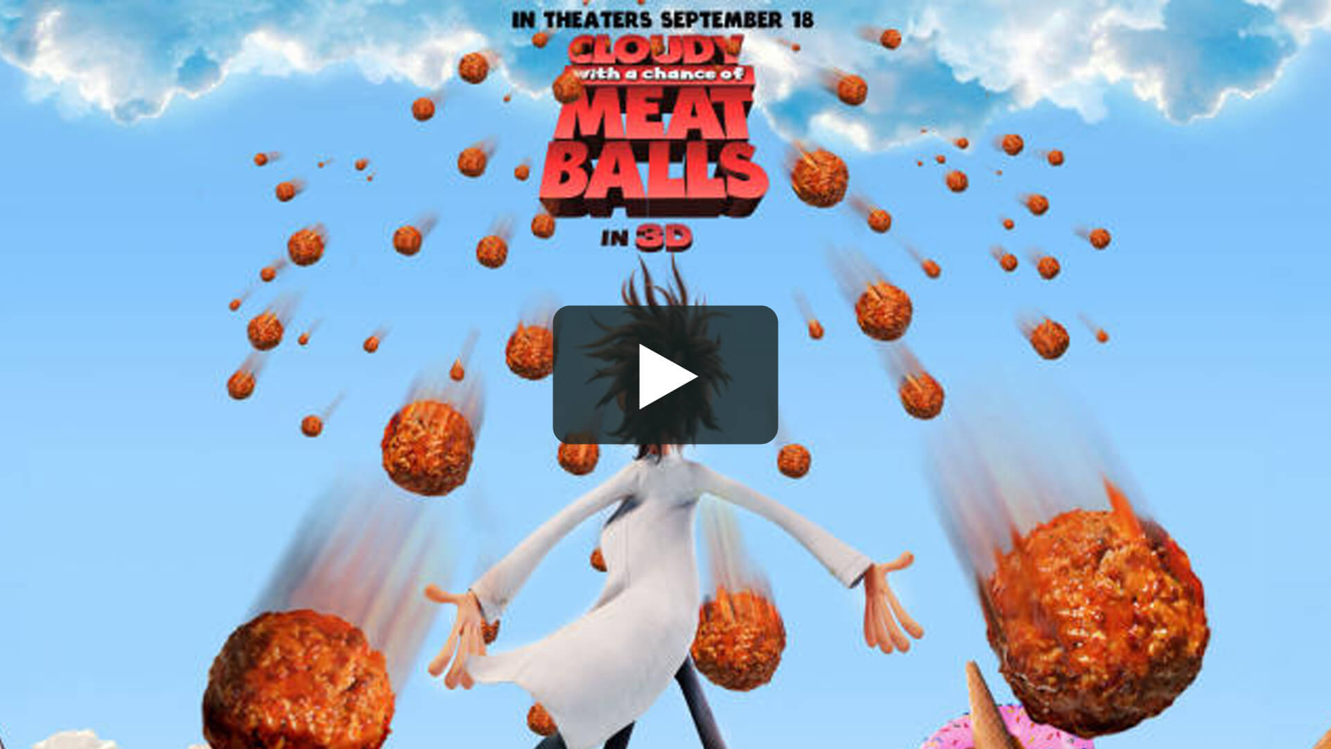 Cloudy with a Chance of Meatballs - 天降美食