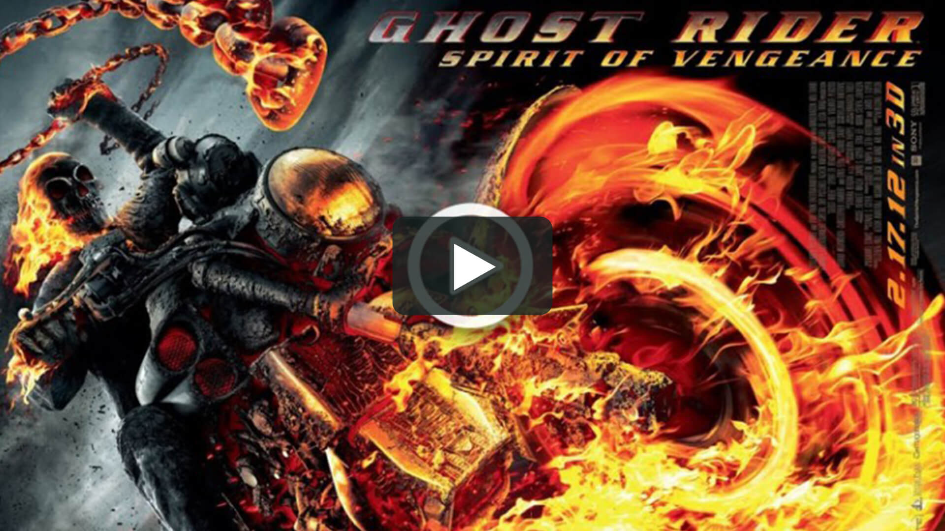 Ghost Rider: Spirit of Vengeance - 靈魂戰車2:復仇時刻