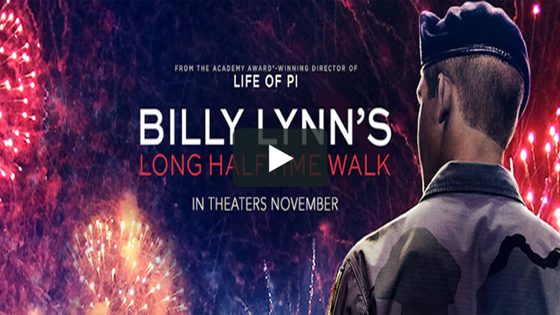 Billy Lynn's Long Halftime Walk - 比利·林恩的中場戰事