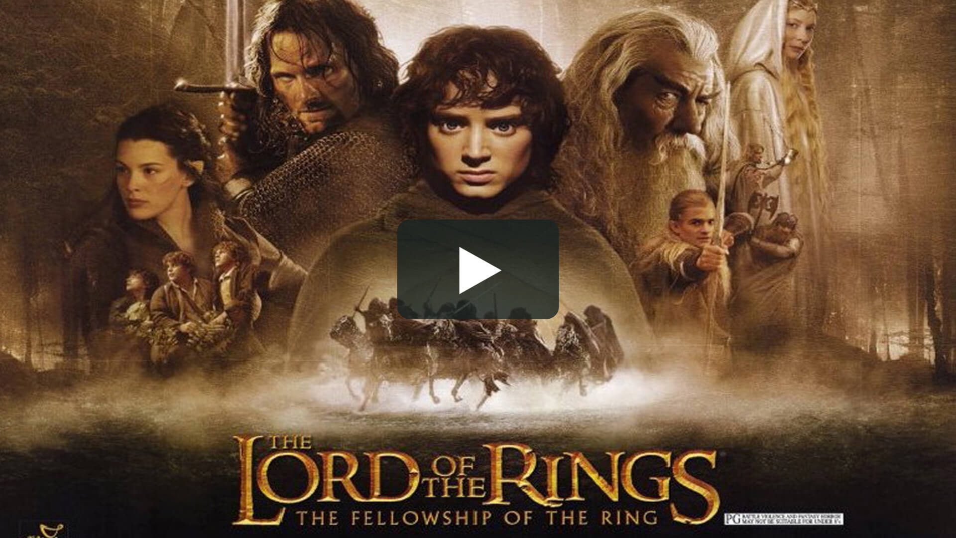 The Lord of the Rings: The Fellowship of the Ring - 指環王1:魔戒再現