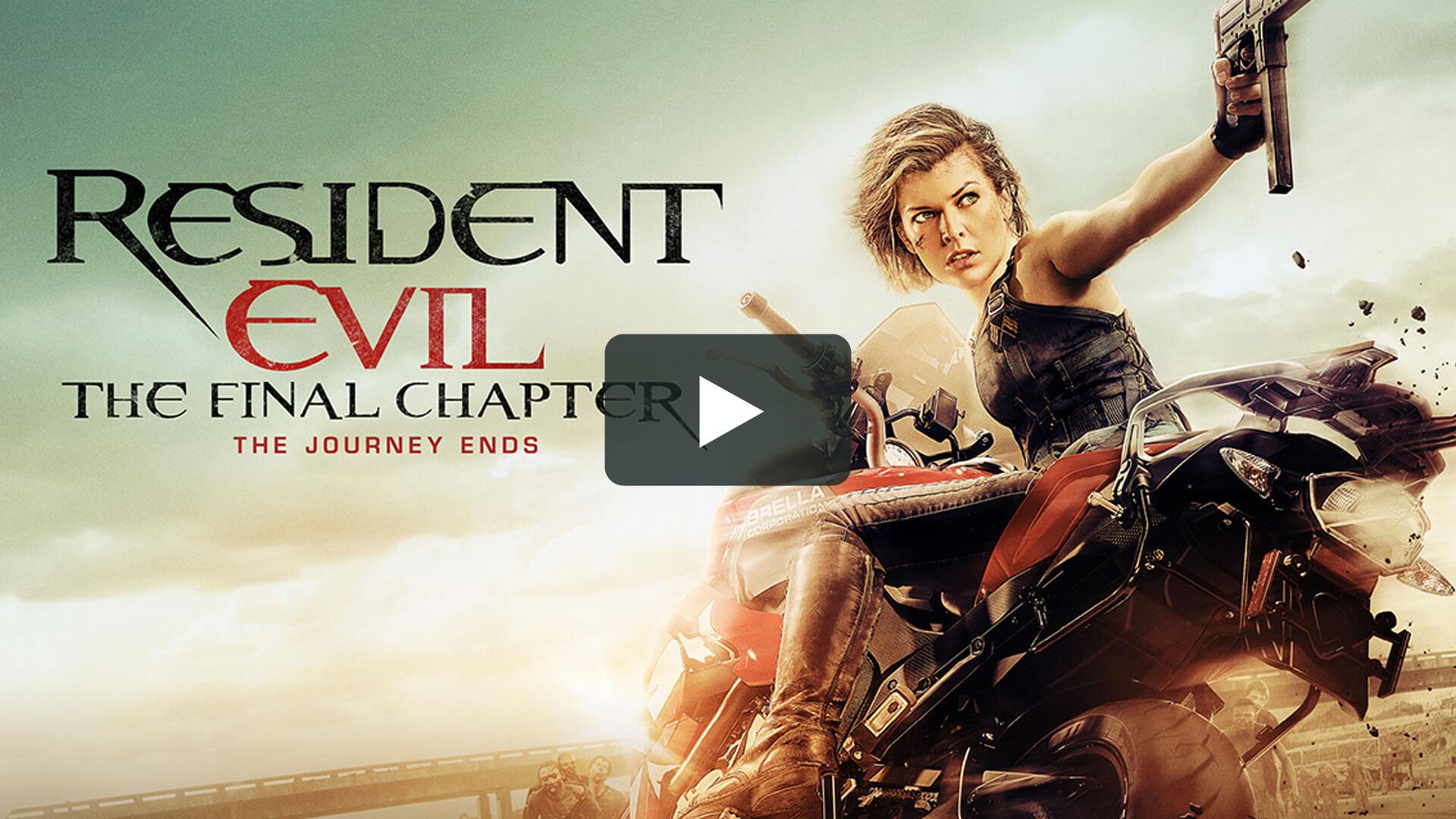 Resident Evil VI : The Final Chapter - 生化危機:終章